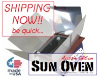 ASO Aussie Edition Sun Oven shipping now s